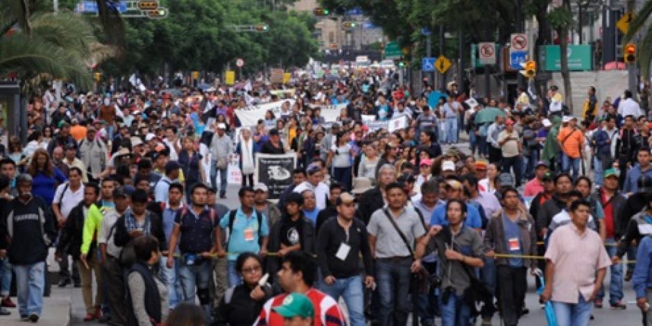 Alertan por 4 protestas en la CDMX
