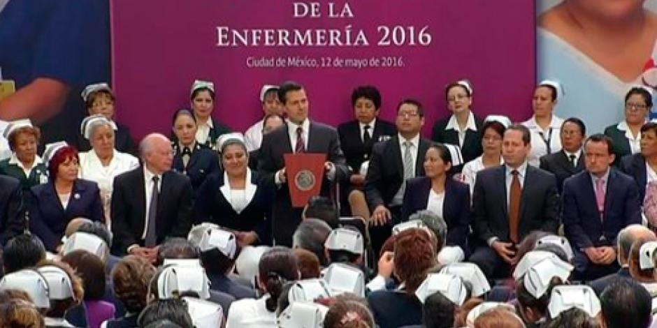 EPN destaca crecimiento de empleos en México