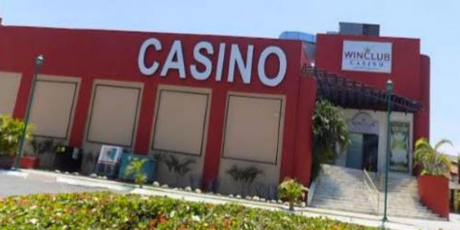 Balean casino en Ixtapa, Guerrero cerca de cuartel militar