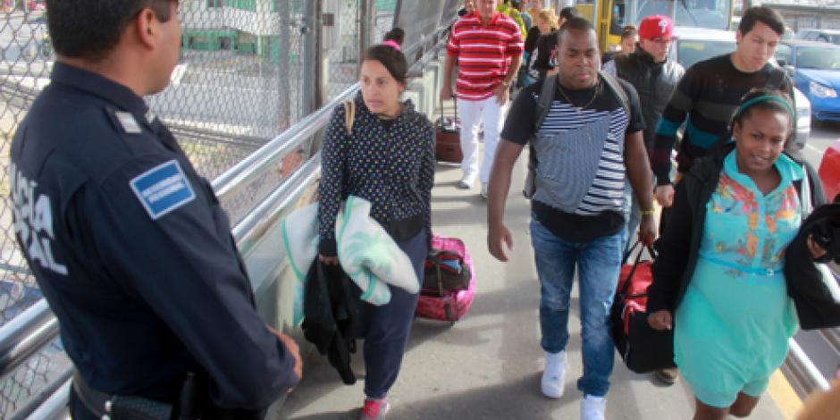 Concluye con éxito traslado de 6 mil cubanos varados en Centroamérica