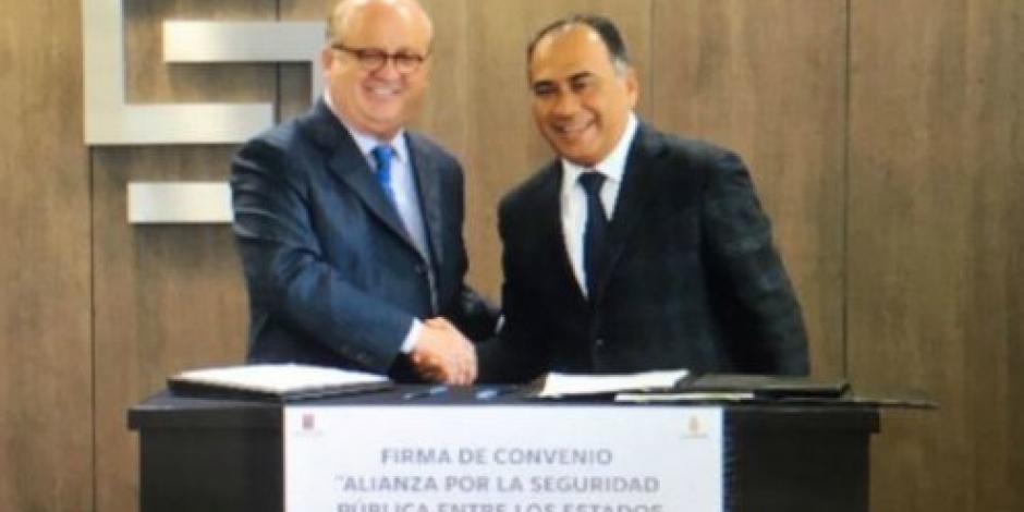 Firman gobernadores de Morelos y Guerrero pacto de Alianza por la Seguridad