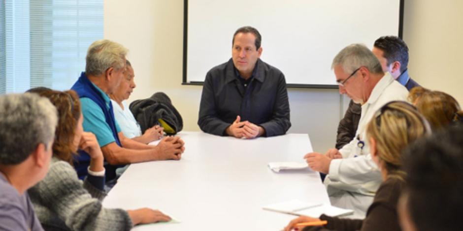 Ofrece Eruviel pago de gastos hospitalarios a familias de heridos por explosión Tultepec