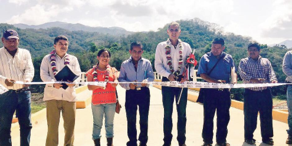 Mejoran infraestructura en Oaxaca