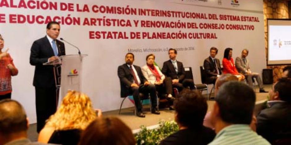 Instalan Comisión Interinstitucional de Educación Artística en Michoacán