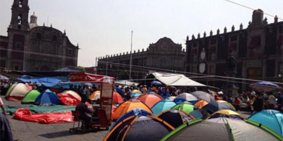 Mancera descarta que maestros lleguen a Zócalo