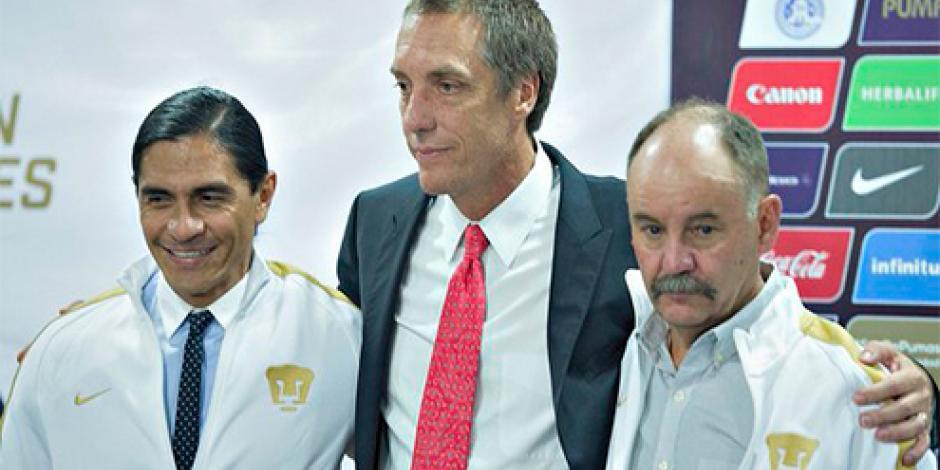 Presenta Pumas de forma oficial a Palencia como su DT