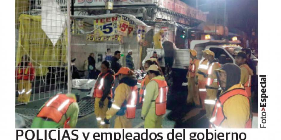 Retiran 700 locales de calles del Centro