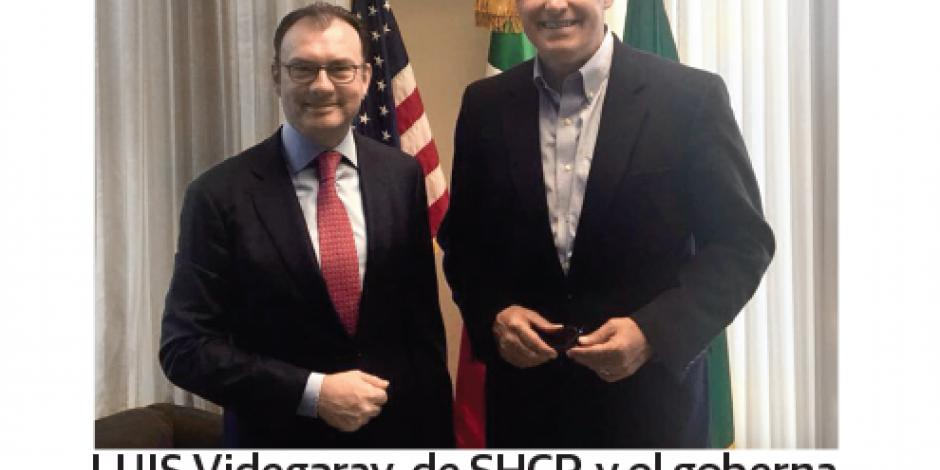 Inversionistas de Washington,  interesados en México: Videgaray