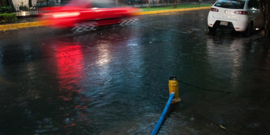 Reportan lluvia ligera en cinco delegaciones de CDMX