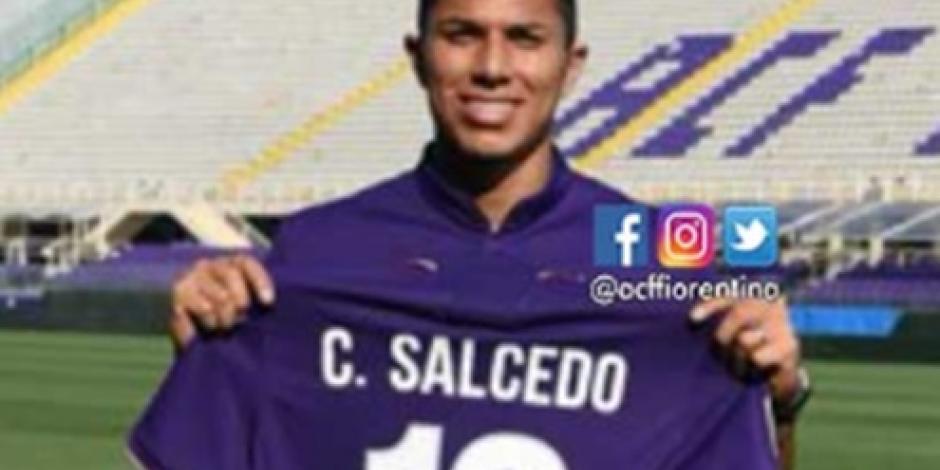 Es el reto más importante de mi carrera, dice Salcedo al llegar a la Fiorentina
