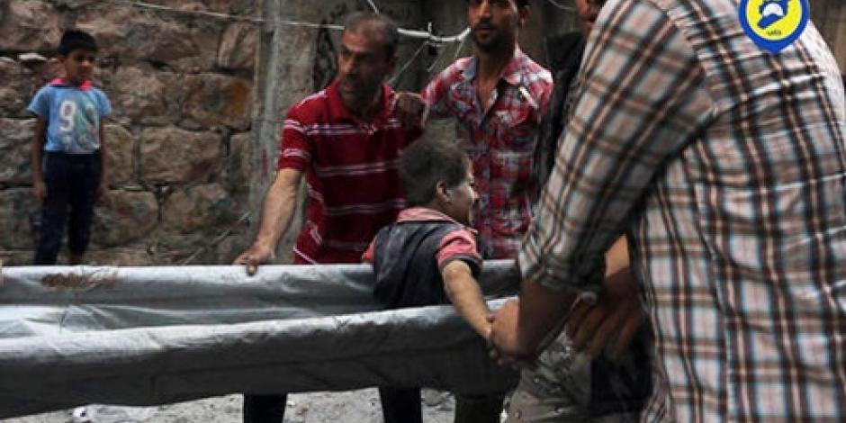 Bombardeos en Siria no cesan; suman 56 muertos en un día
