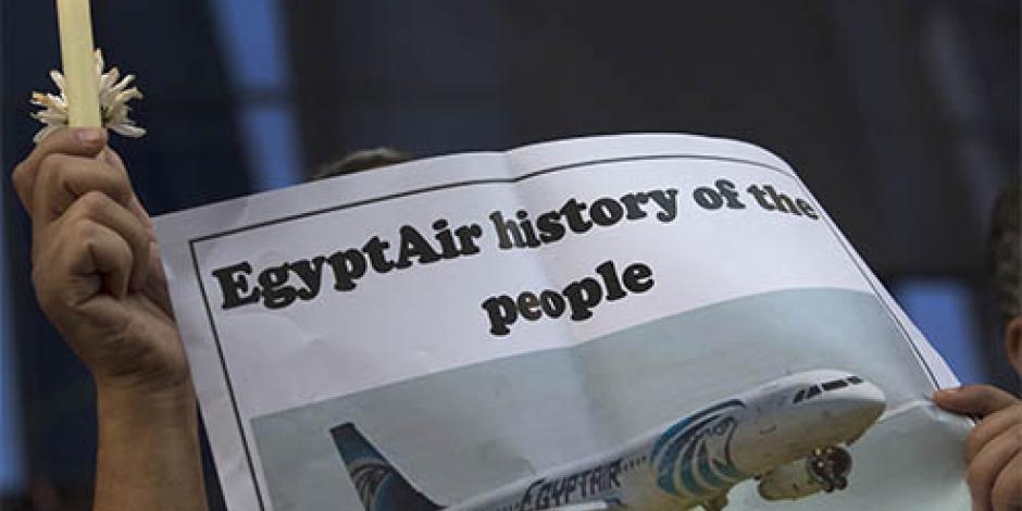 Se estrecha la zona de búsqueda del avión de EgyptAir