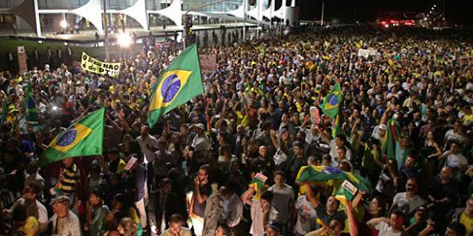 Miles protestan en Brasil contra designación de Lula