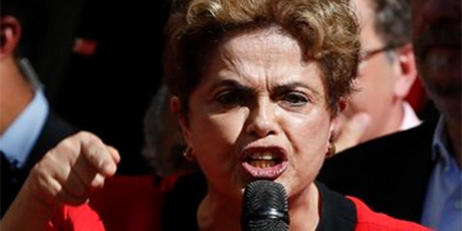 """Rousseff acusa de """"conspirador"""" a vicepresidente"""