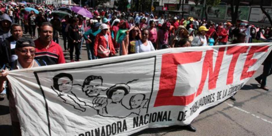 Anuncian foro de la CNTE sobre Modelo Educativo