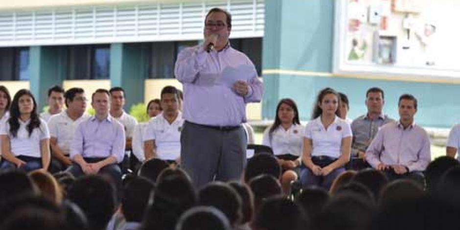 En Veracruz, desde los tecnológicos transformaremos México, asegura Duarte