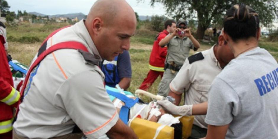 Choque de camión deja 12 heridos en Jalisco