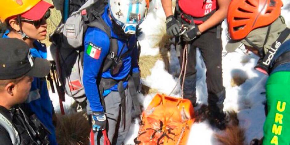 Muere alpinista francés en el Iztaccíhuatl