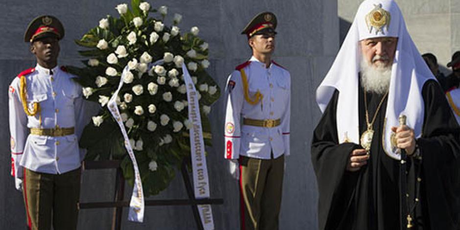 Raúl Castro y patriarca ortodoxo se reúnen antes de encuentro con papa