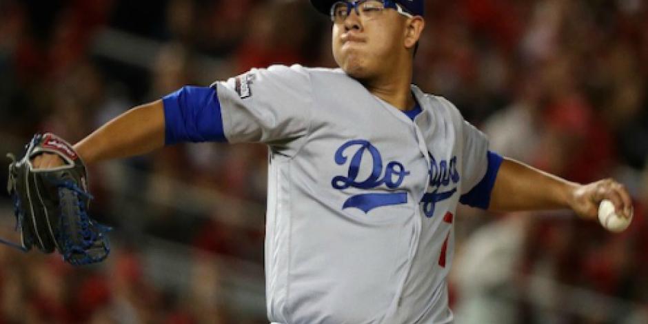 Urías hace historia en victoria de los Dodgers