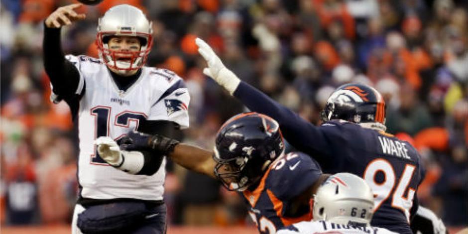 Pats vencen a Broncos y están en Playoffs