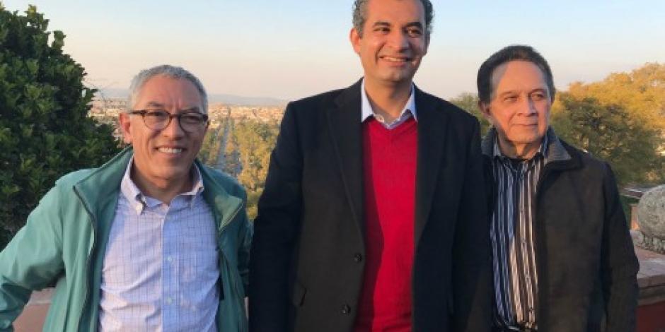 Se reúne Ochoa Reza con exgobernadores de Michoacán