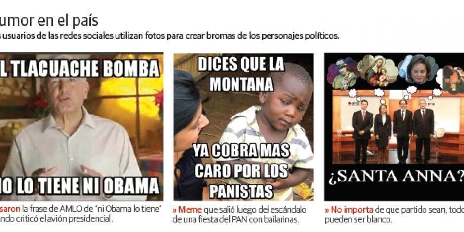 Vio un meme político 1 de cada 3 mexicanos