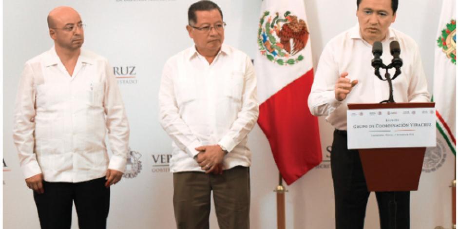 Semar toma control de seguridad en Veracruz