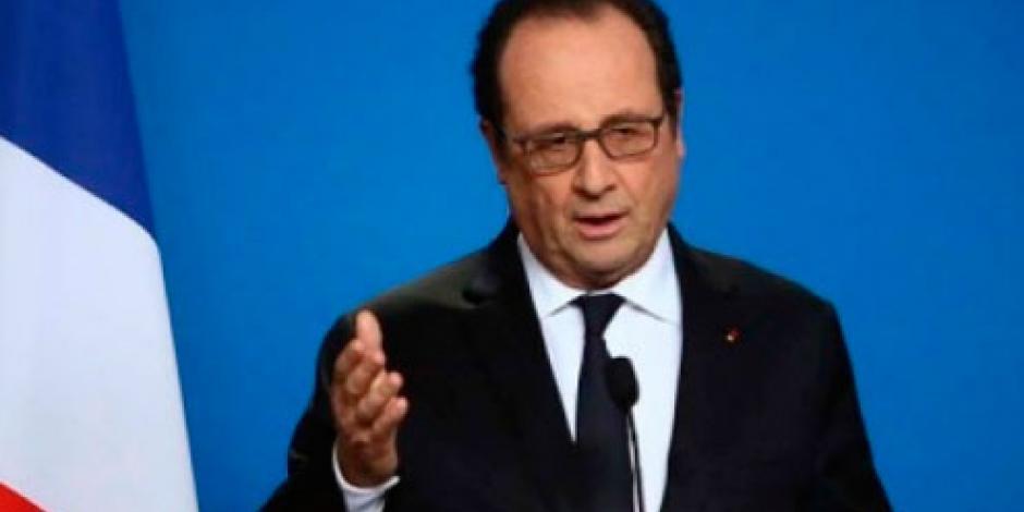 """Hollande califica de """"nauseabundos"""" comentarios de Trump"""