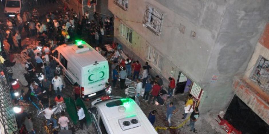 Suman 50 muertos por ataque en una boda en Turquía