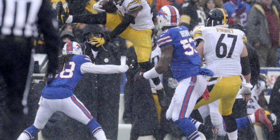 Steelers vencen a Bills y lideran su división