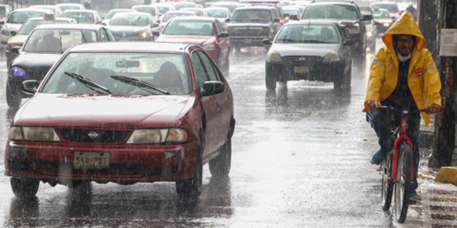 Siguen las lluvias intensas en la mayor parte del país