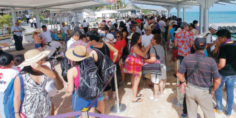 Aumenta 64.5% afluencia turística en Isla Mujeres