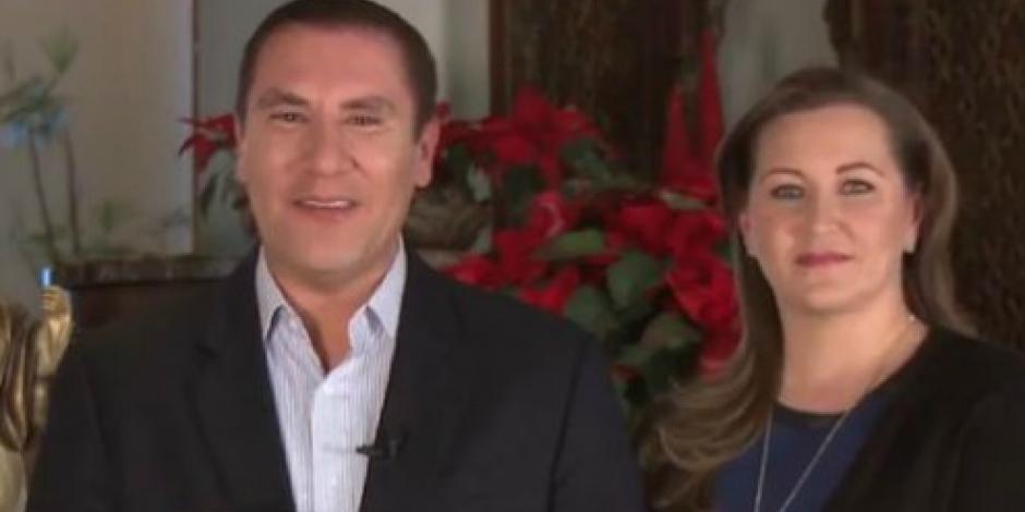 Gobernador de Puebla envía mensaje de felicitación por Navidad