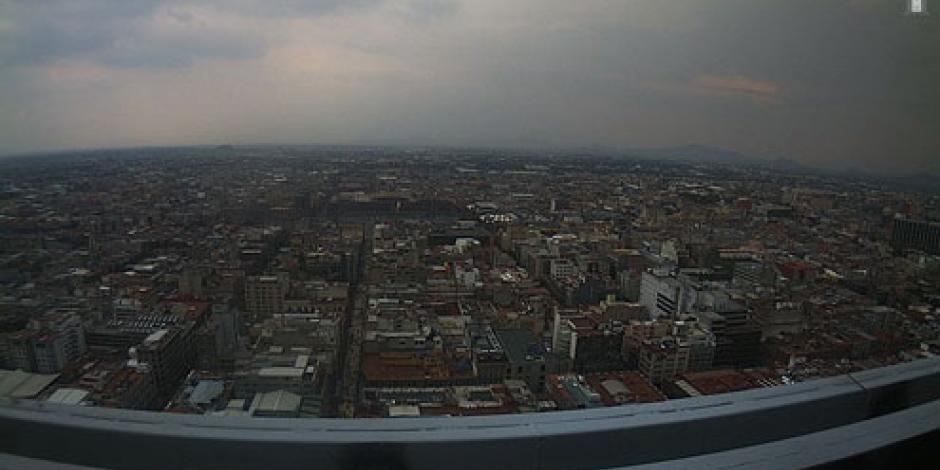 Reportan mala calidad de aire en el Valle de México