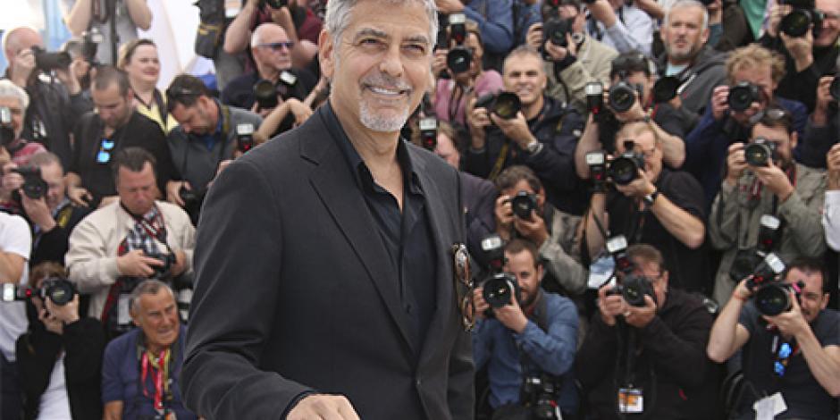 Clooney jura que Trump no será presidente de EU