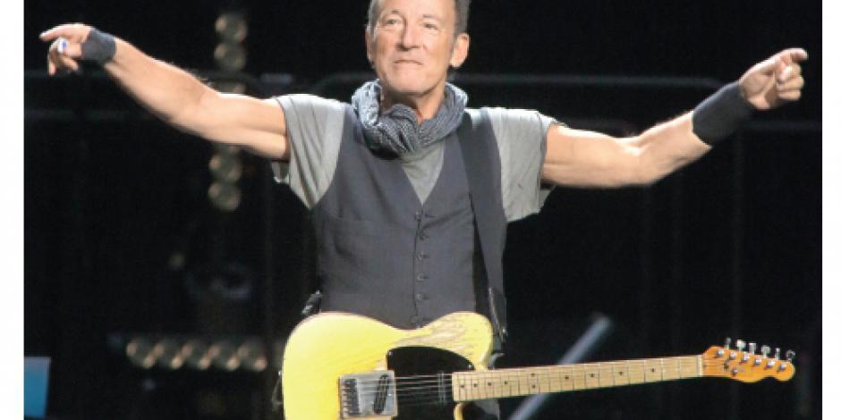 Bruce Springsteen publica un itinerario desesperado, su vida
