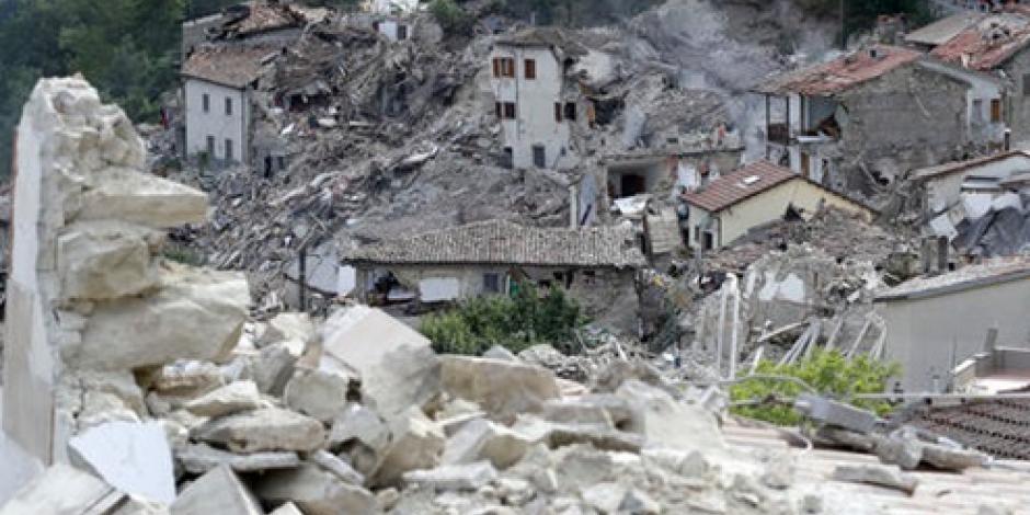 Van 120 muertos y 150 desaparecidos por sismo en Italia