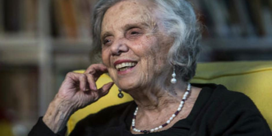 Cumple Elena Poniatowska 84 años con dos nuevos proyectos