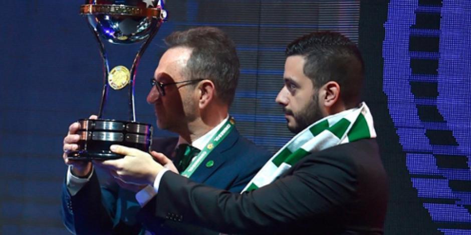 Chapecoense recibe Copa Sudamericana 2016