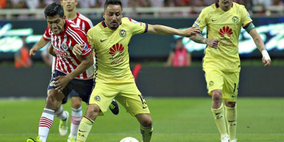 Chivas y América se olvidan del gol en partido intenso