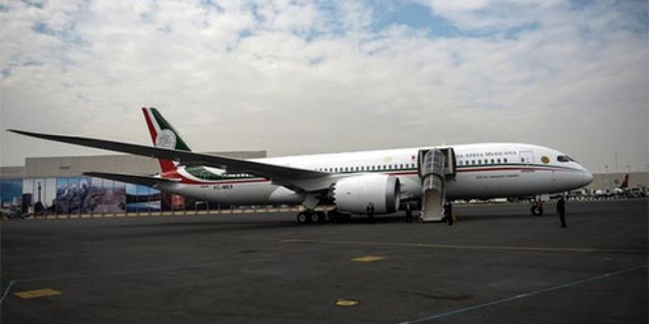 Nuevo avión no es propiedad del Presidente, subraya EPN