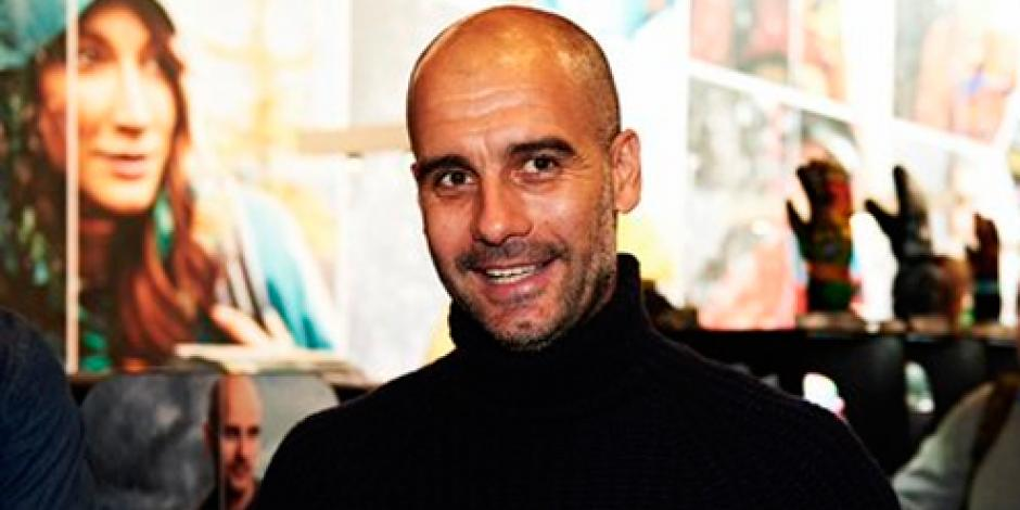 Oficializan llegada de Pep Guardiola al Manchester City