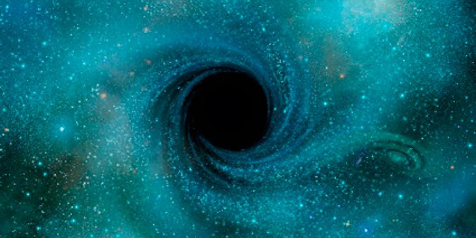 Descubren uno de los agujeros negros más grandes