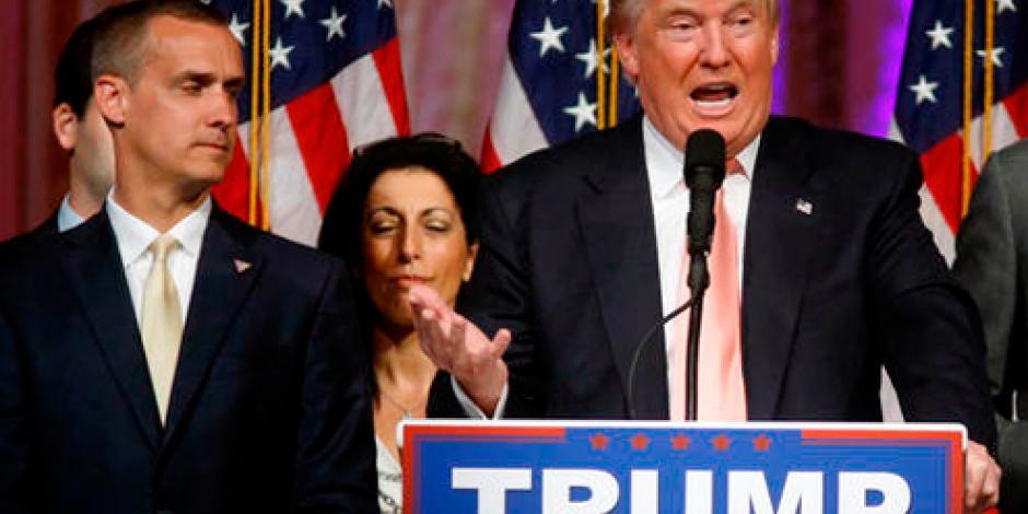 Trump dice que desplome de avión es