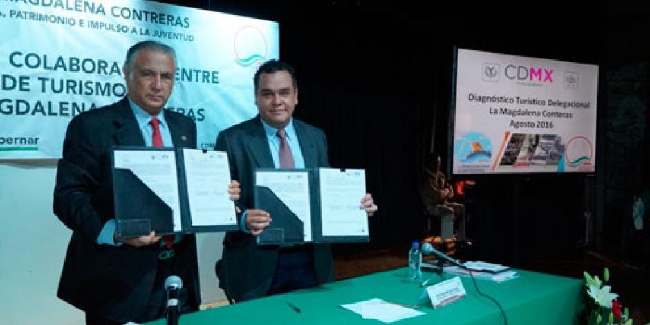 Fernando Mercado fortalece el turismo en la Magdalena Contreras