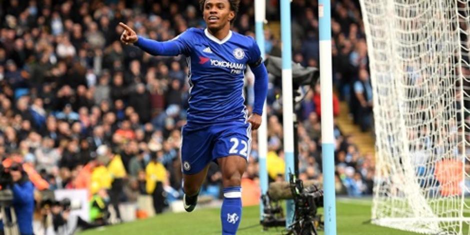 Chelsea derrota 3-1 al Manchester City y se consolida en el primer lugar