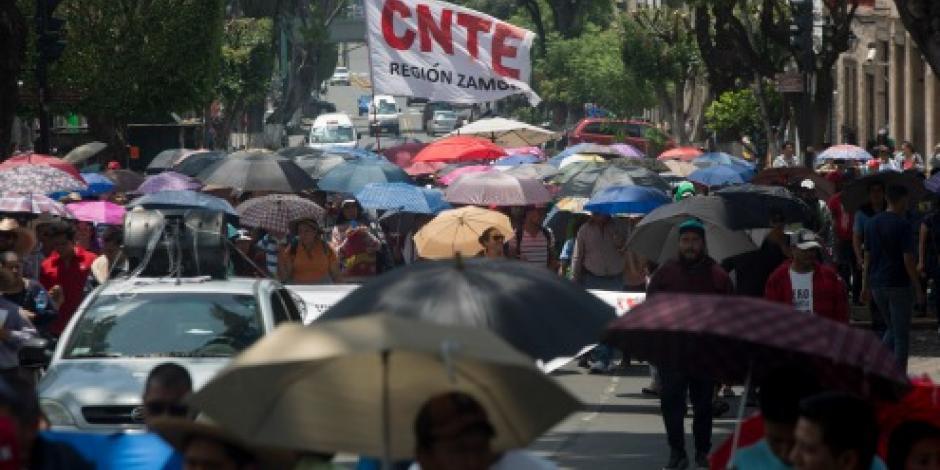 Comité de Víctimas de Nochixtlán se suma a movilizaciones de la CNTE