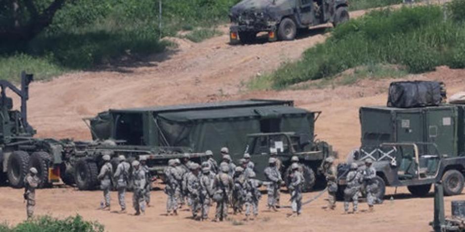 Para evitar deserción militar, Norcorea coloca minas en su frontera