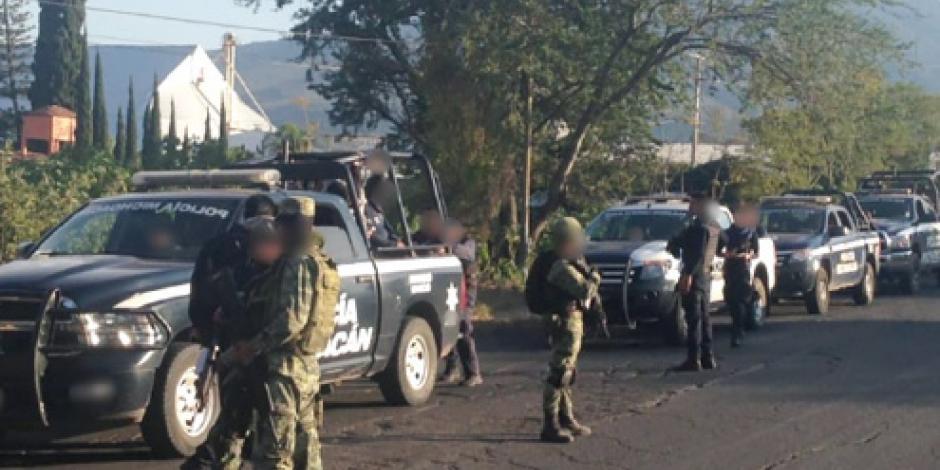 """Detienen a cinco """"viagras"""" por los 6 decapitados de Jiquilpan"""